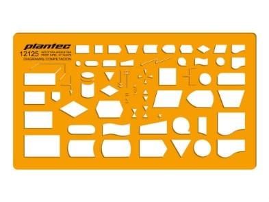Plantilla diagrama de computación Plantec