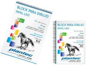 Block para dibujo Plantec