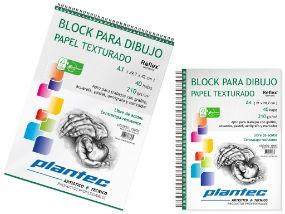 Block para dibujo texturado Plantec