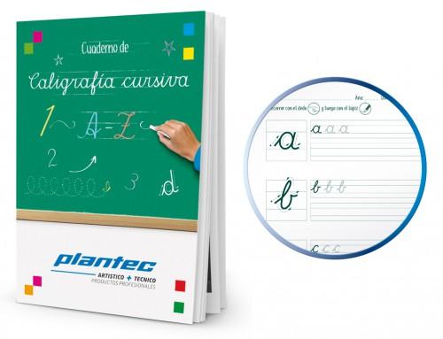 Cuaderno de caligrafía cursiva A4 Escolar