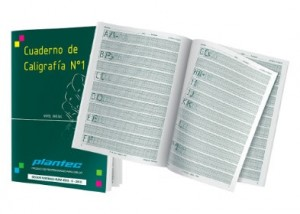 Cuaderno de Caligrafía Nº1 nivel inicial