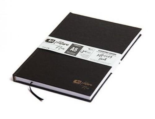 "Cuaderno tapa dura ""Línea Noir"" – Lettering de 90 grs."