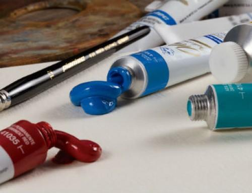 Pintura al Óleo en pomo. x 20 ml y 100 ml