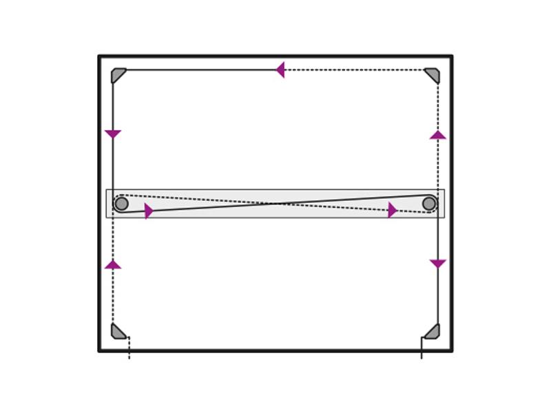 hilo trenzado para tablero de dibujo